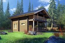 Проекты домов из бруса с ценами