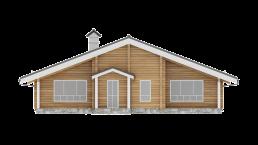 дом из бруса профилированного 200 на150