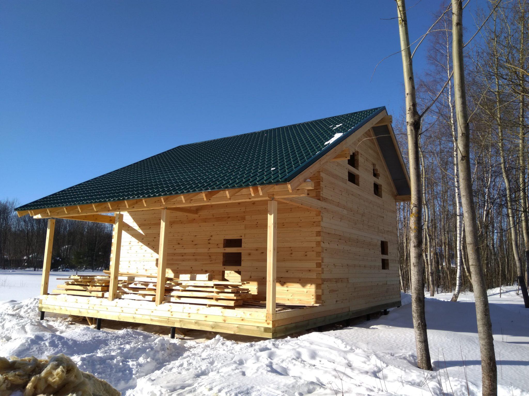 Строительство домов из бруса 37
