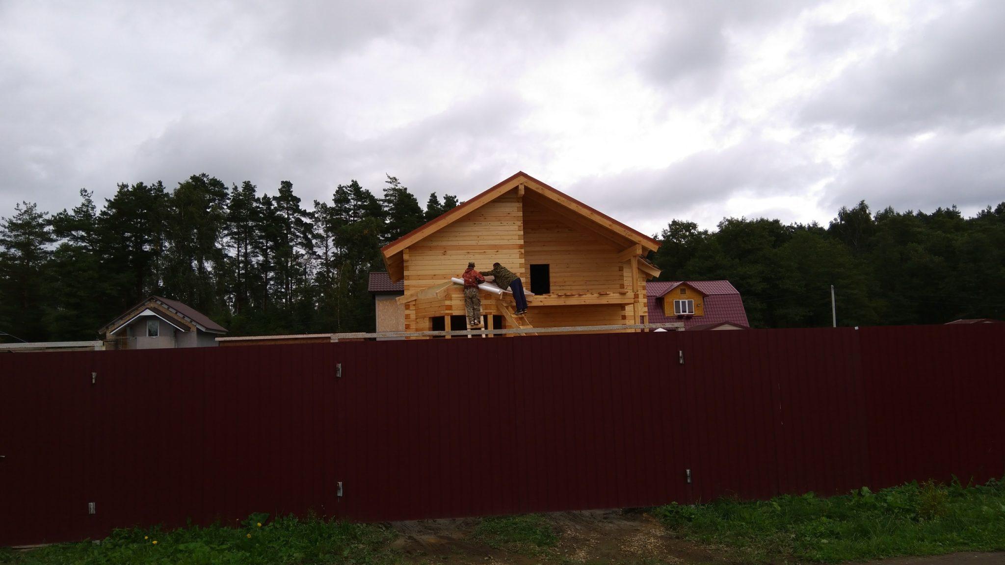 Строительство домов из бруса 40