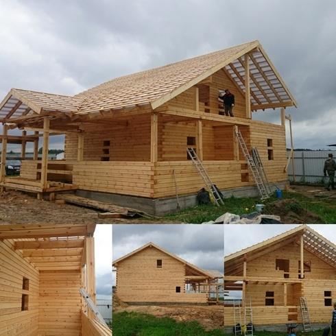 Строительство домов из бруса 43