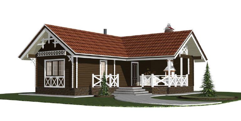 Строительство домов из бруса 34