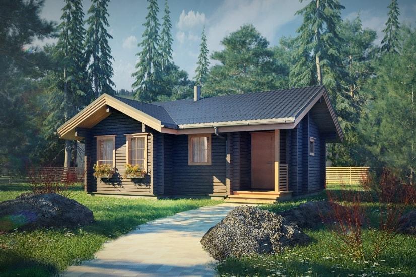 Проекты домов из бруса и бревна 5