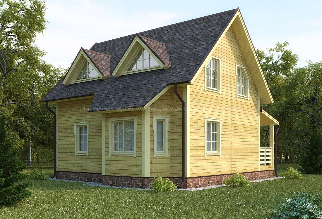 Строительство домов из бруса 21