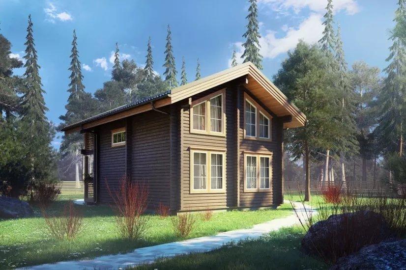 Строительство домов из бруса 12