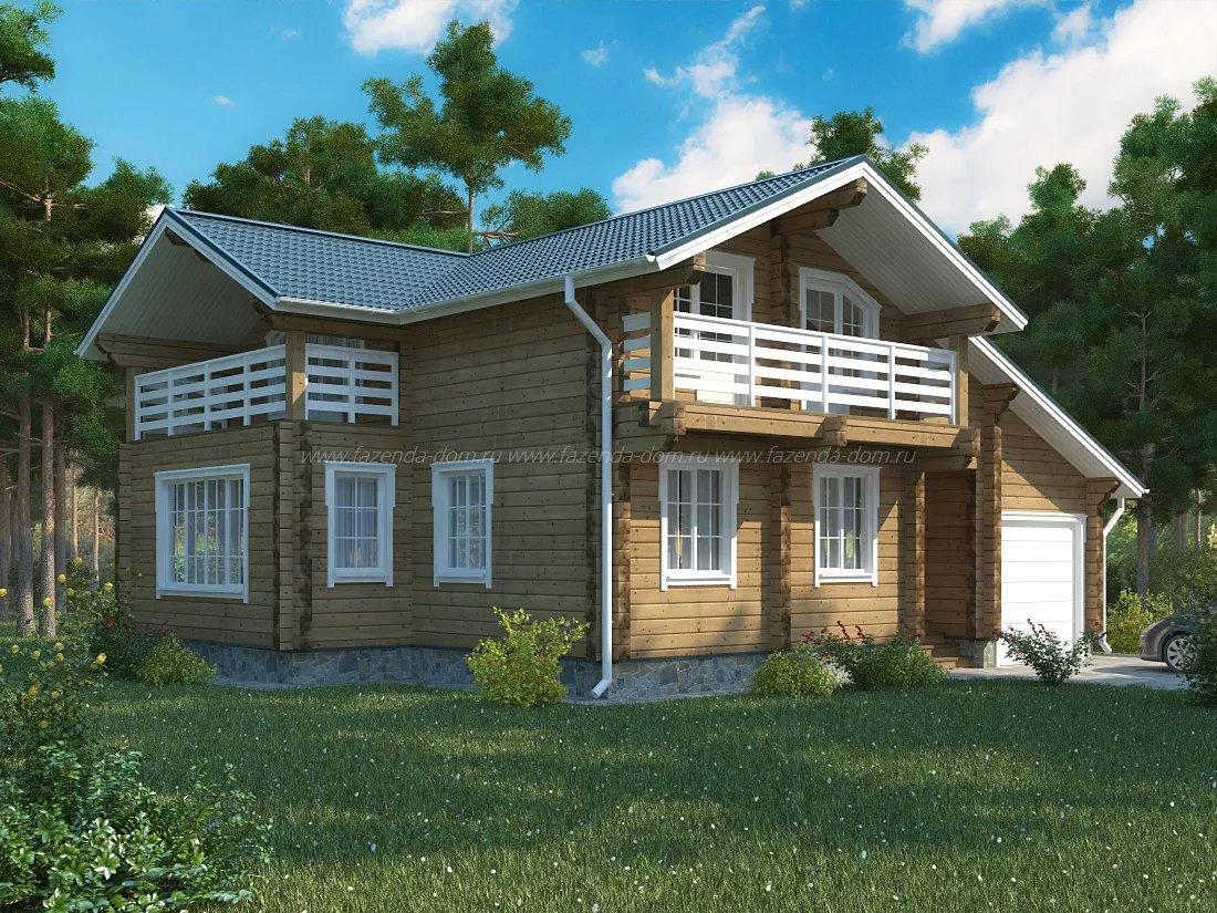 Строительство домов из бруса 14