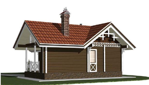 Строительство домов из бруса 36