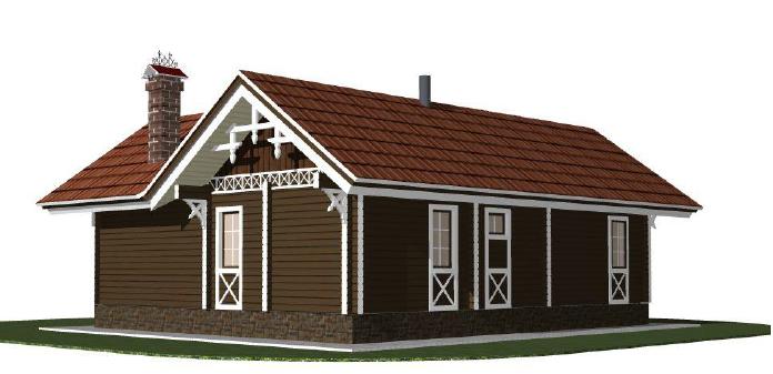 Строительство домов из бруса 35