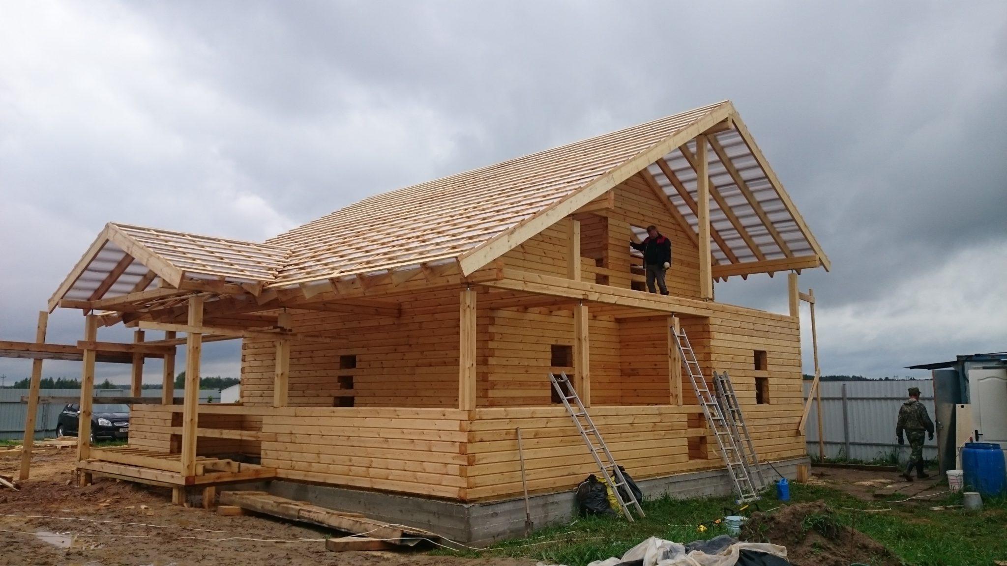 Строительство домов из бруса 44
