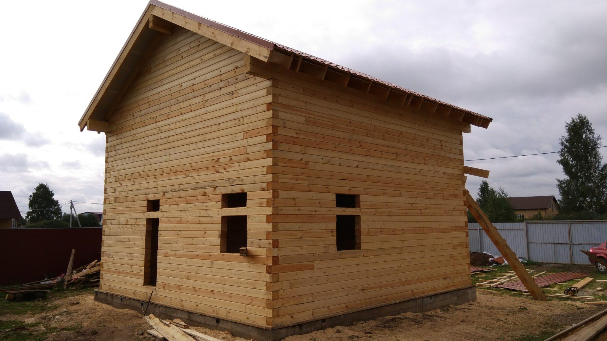 Строительство домов из бруса 42