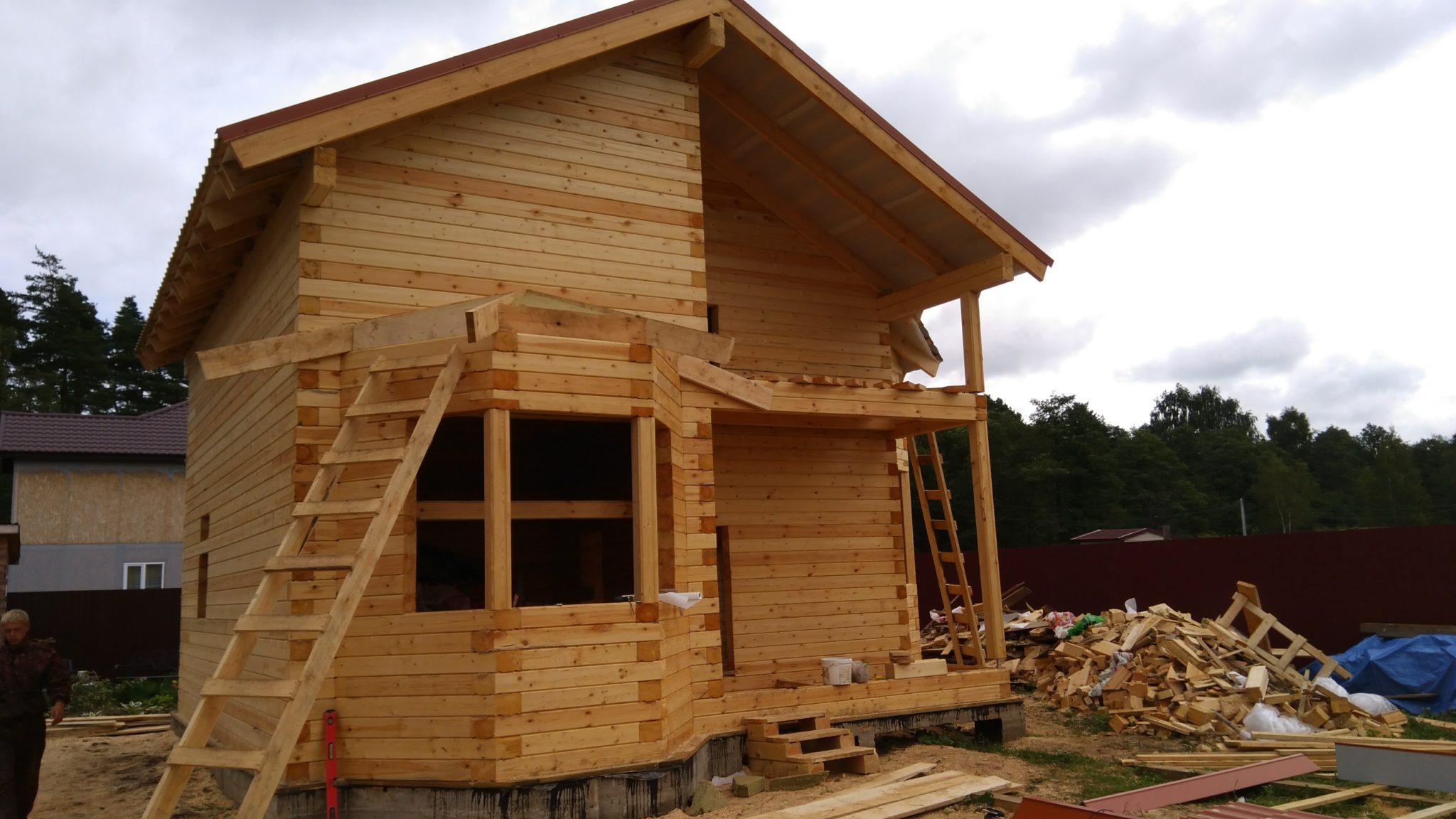 Строительство домов из бруса 41