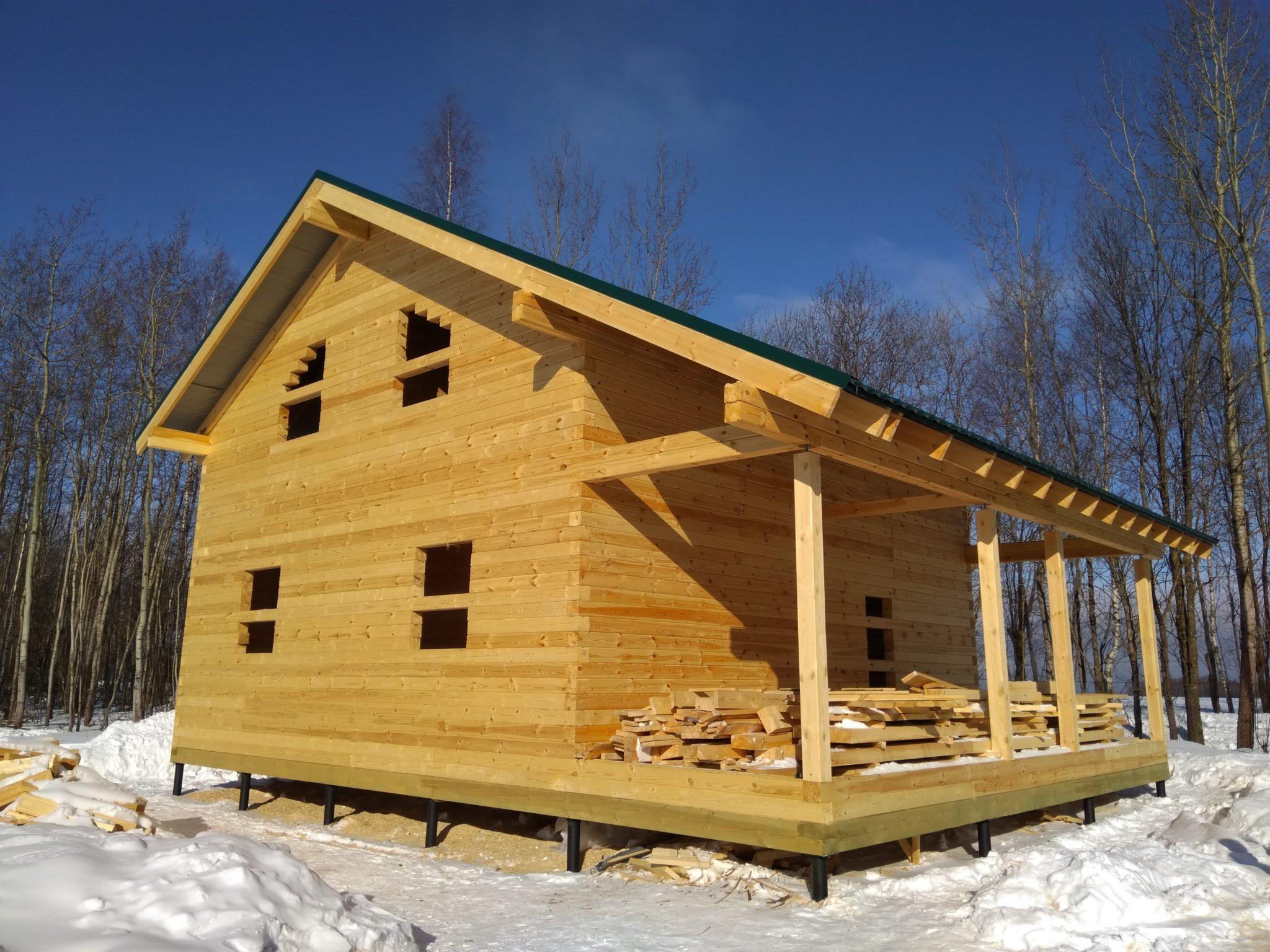 Строительство домов из бруса 38