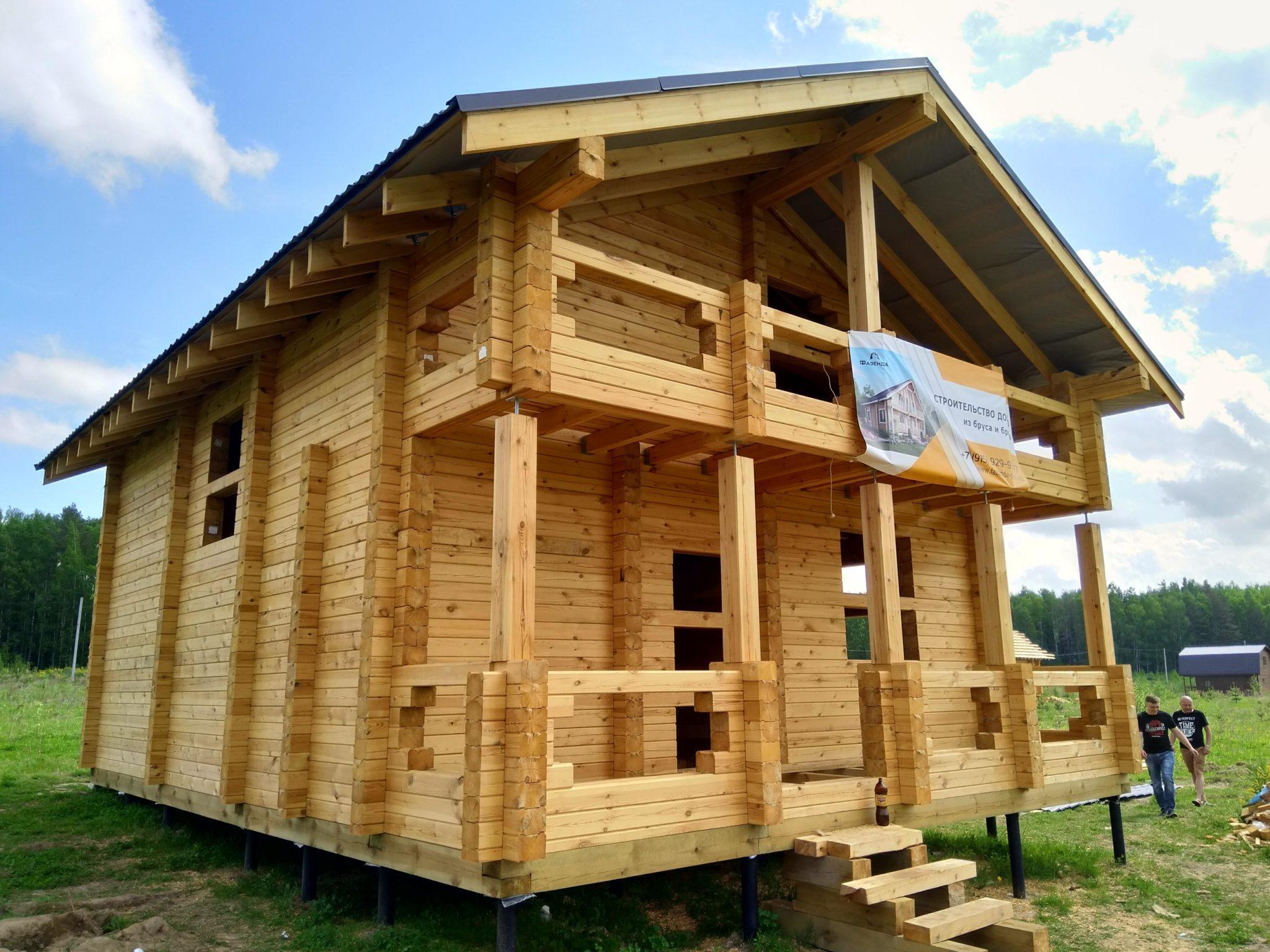 Строительство домов из бруса 33