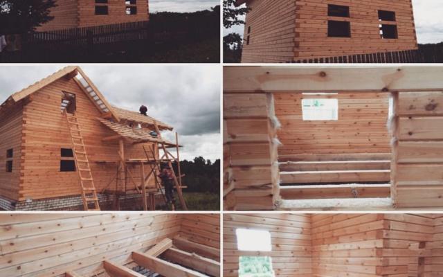 Строительство домов из бруса 58