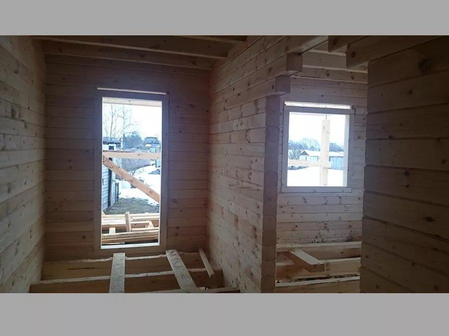 Строительство домов из бруса 47