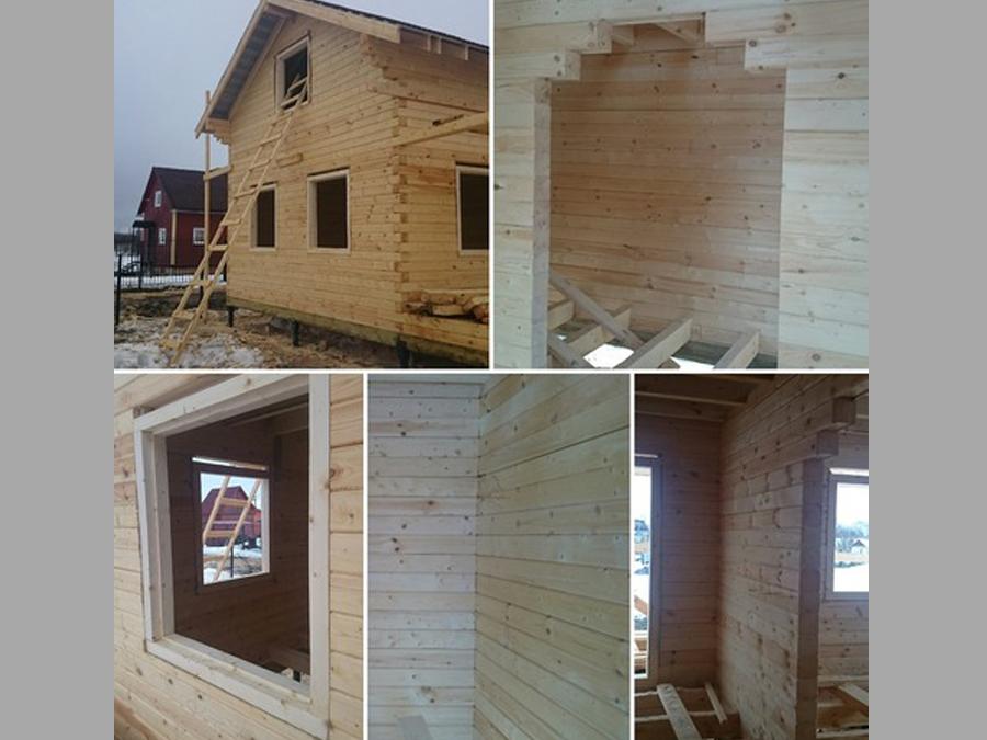 Строительство домов из бруса 46