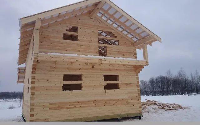 Строительство домов из бруса 49