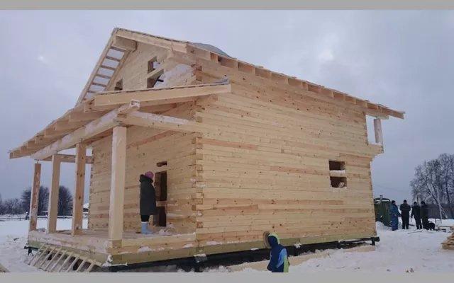 Строительство домов из бруса 51