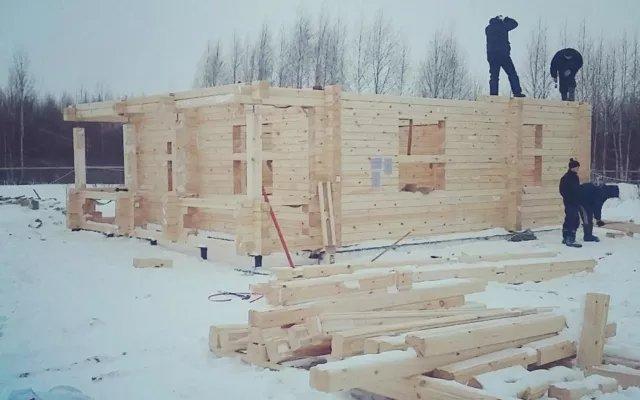 Строительство домов из бруса 55