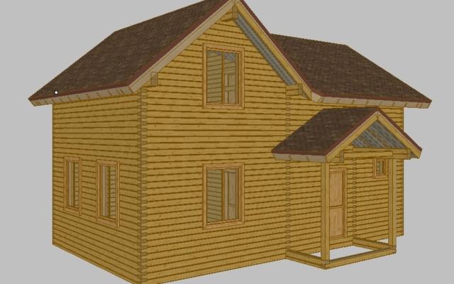 Строительство домов из бруса 59