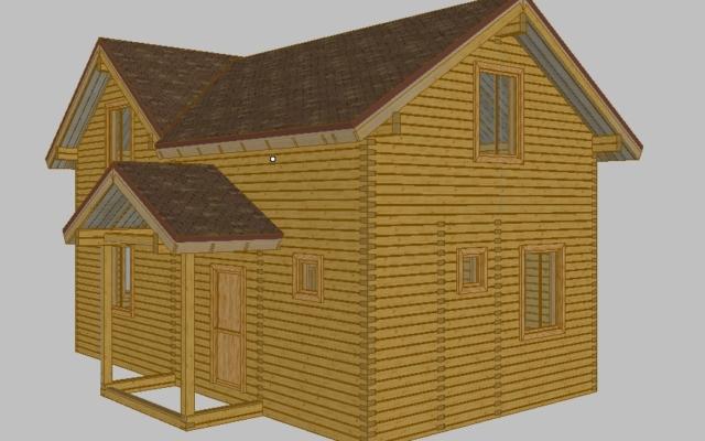 Строительство домов из бруса 60
