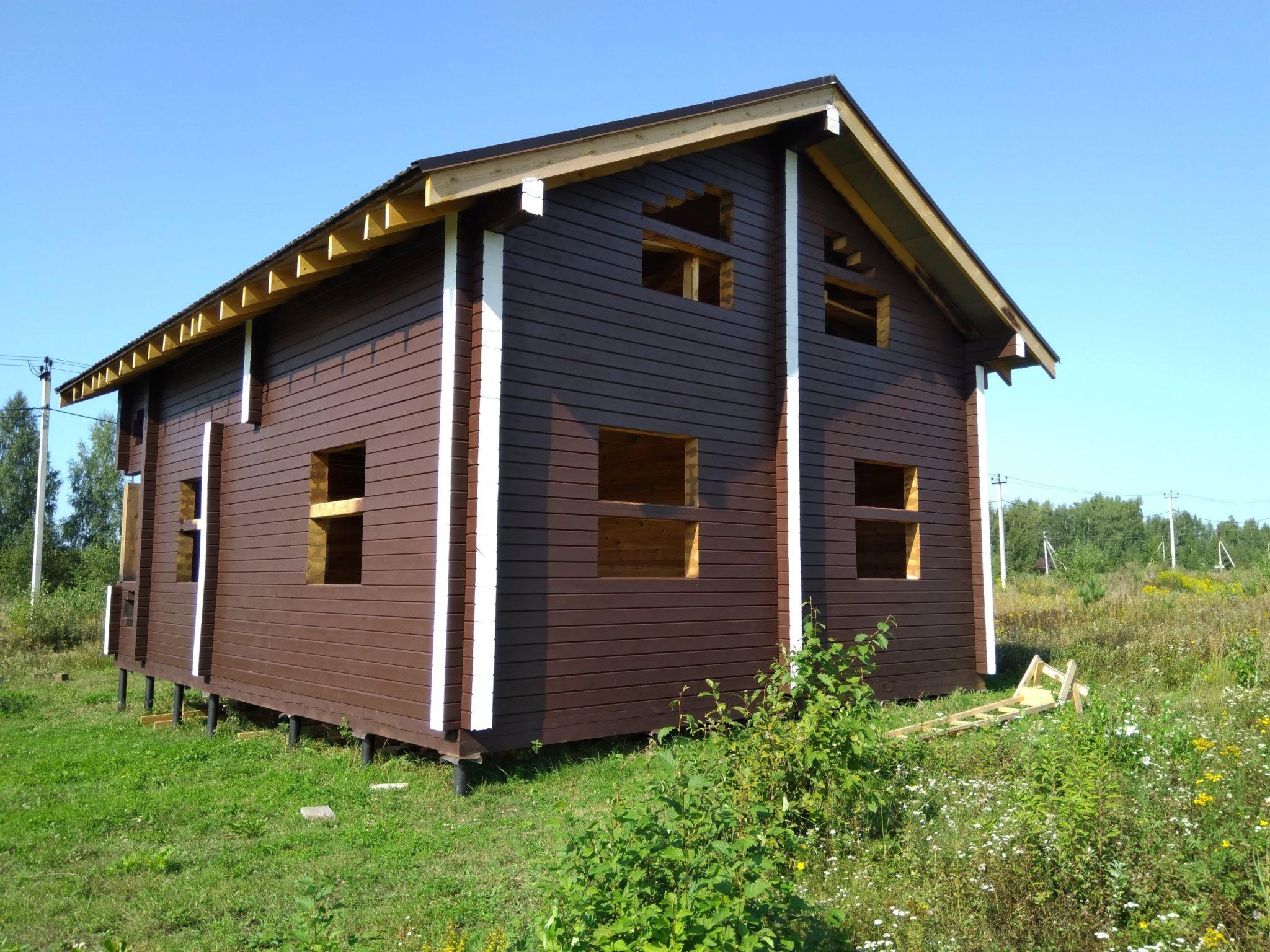 Дома из профилированного бруса в Иваново