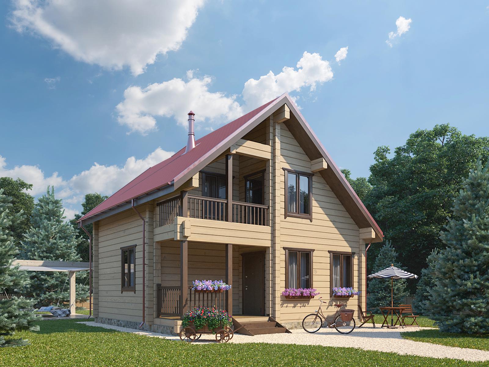 Строительство домов из бруса 6